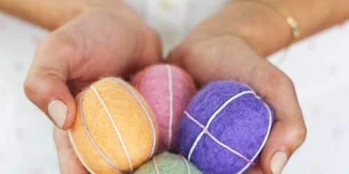 wonderful Felted Easter Eggs