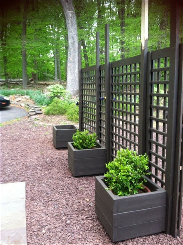 DIY wooden fence installation Project