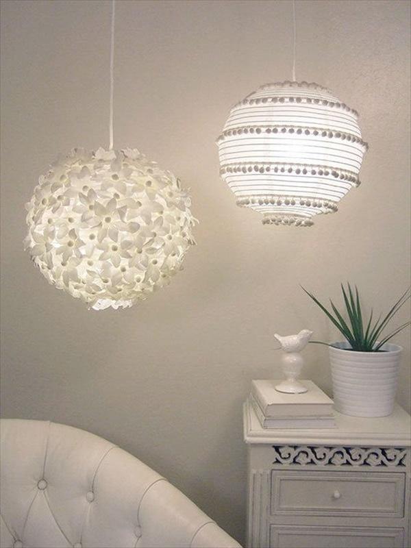 Lovely homemade Lamps