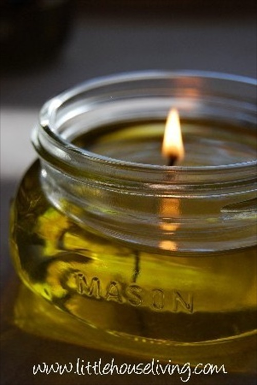 Cool Homemade Olive Oil Candles | EASY DIY and CRAFTS