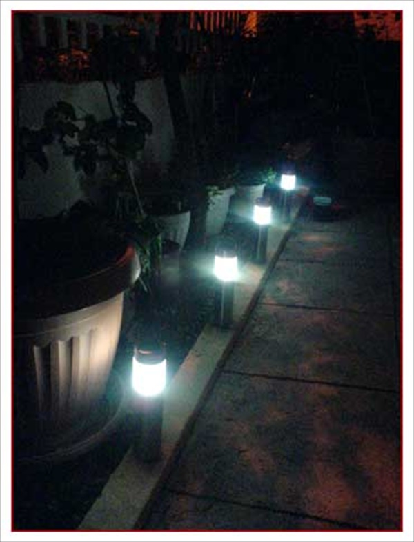 Do it yourself solar lamps