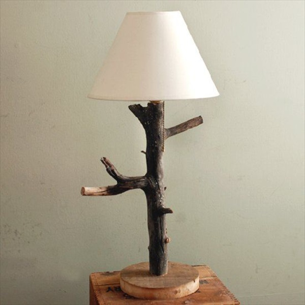 Rustic table lamp ideas