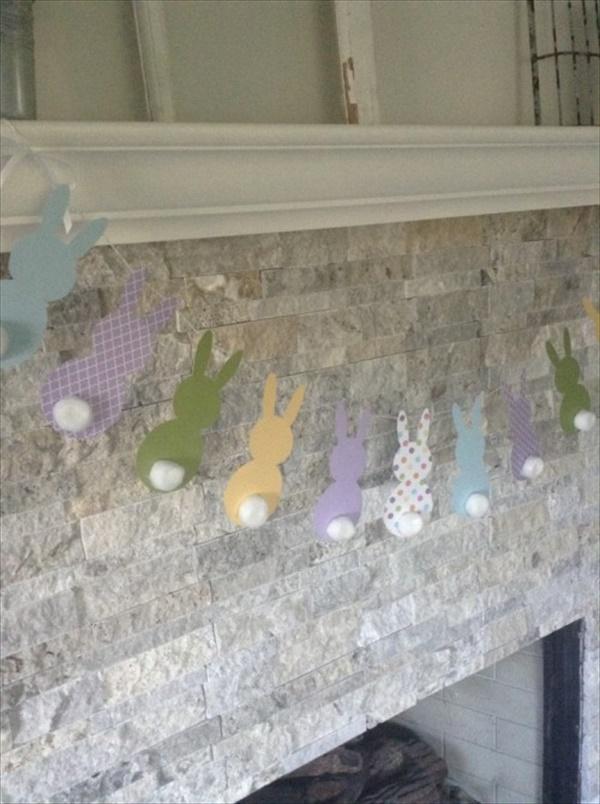 Simple Vintage Easter decor