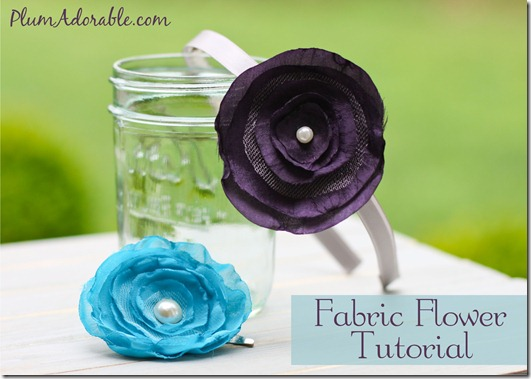 How to make fabric rose