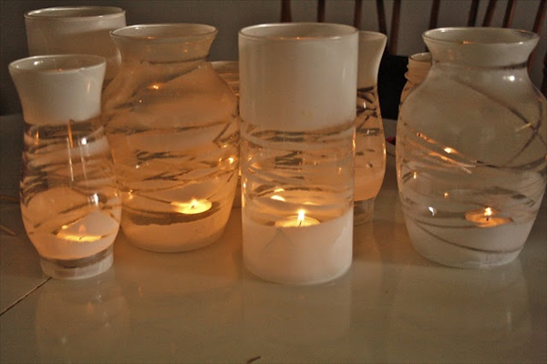 how to make a driftwood candle holder