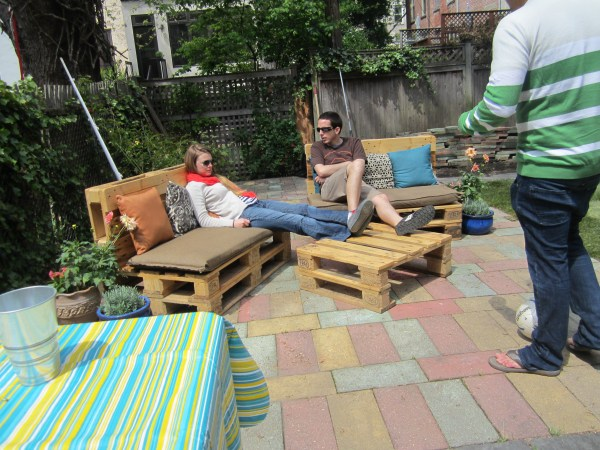 Diy Pallet lawn furniture ideas