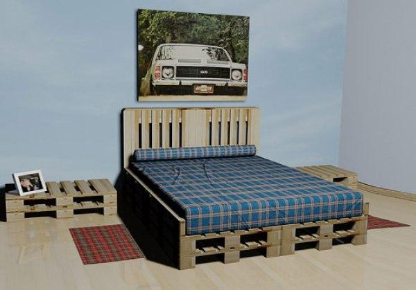DIY Pallet furniture plans