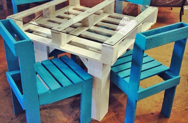 Charming DIY Pallet furniture ideas