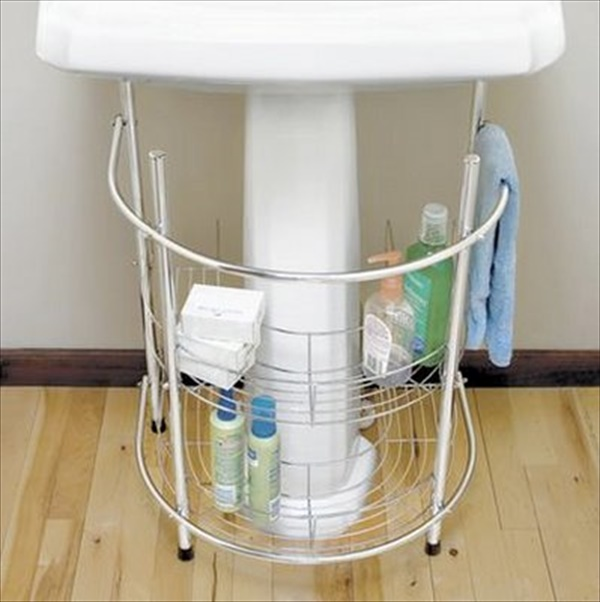 Modern DIY towel storage plans