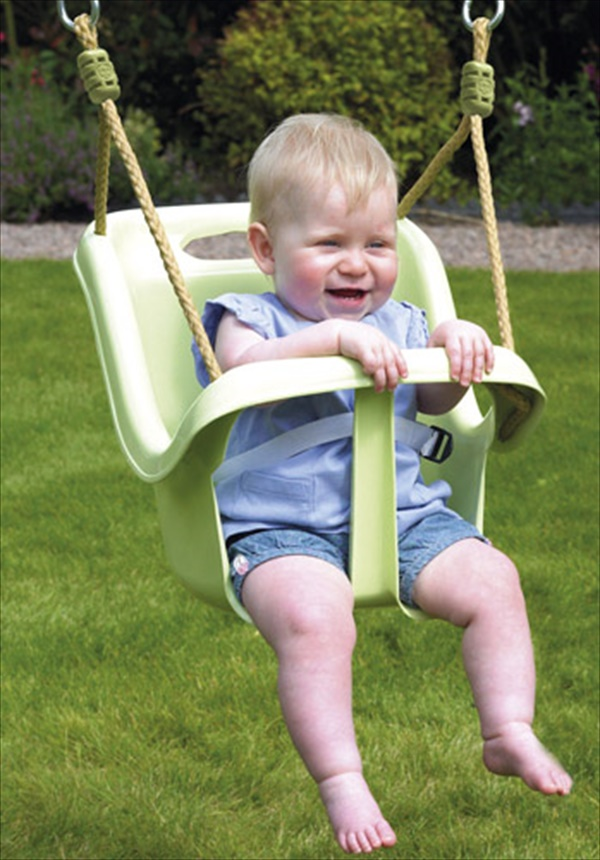 easy outdoor baby swing ideas