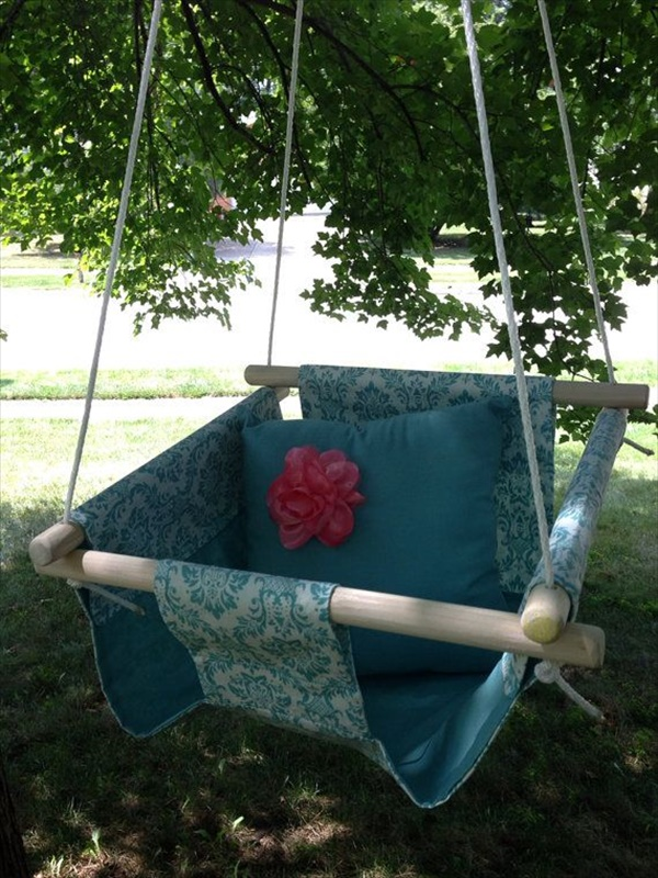 How to make outdoor baby swing