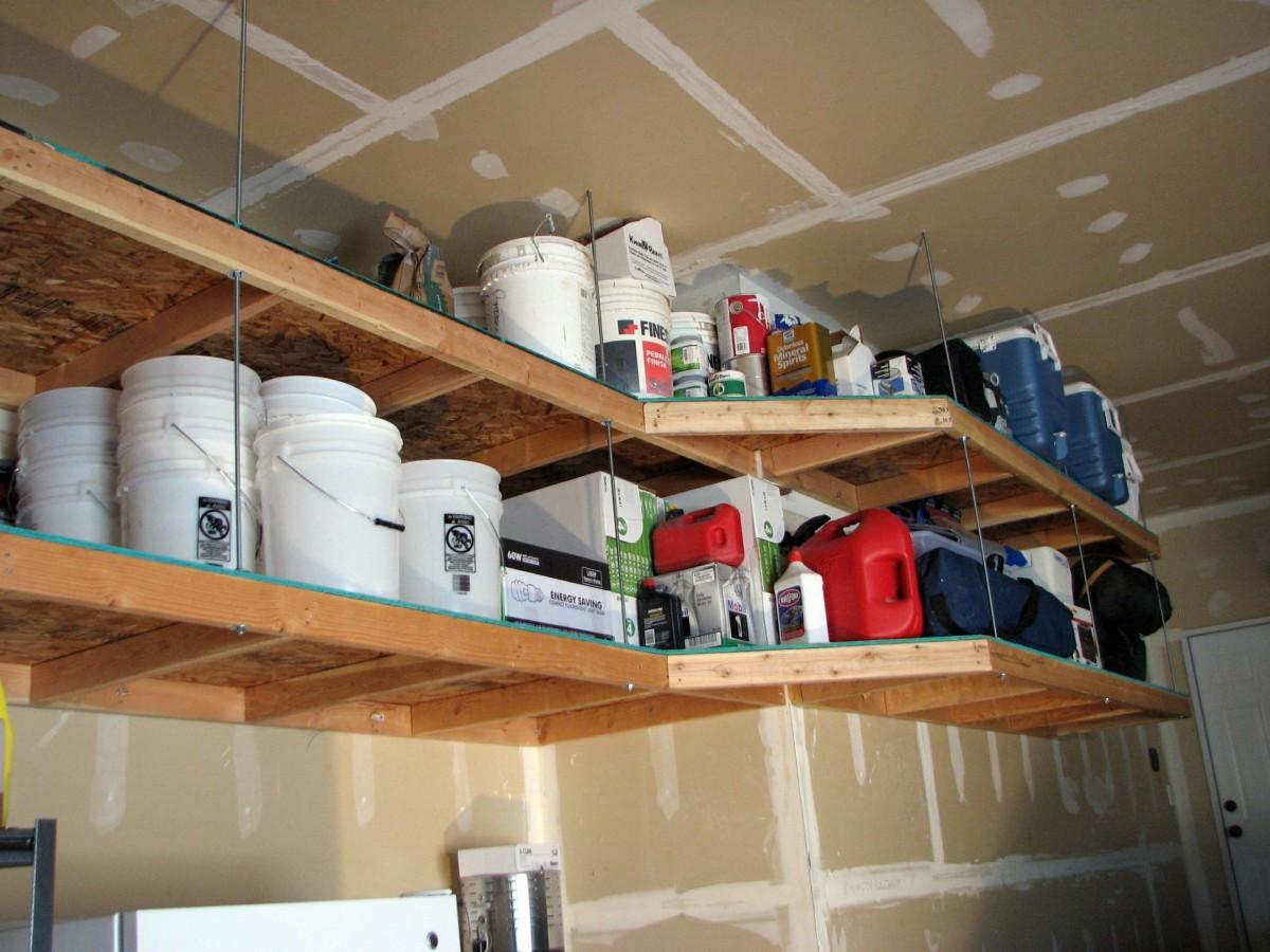10 innovative diy garage shelving for storage solutions easy diy