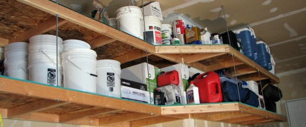 DIY Garage Shelving Project