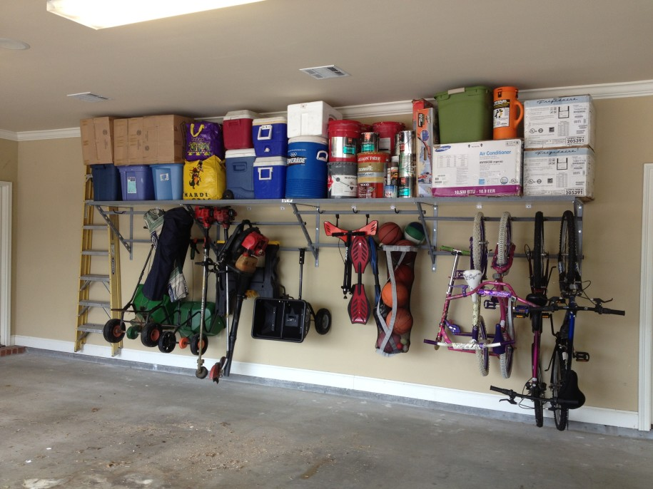 10 innovative diy garage shelving for storage solutions for Garage storage plans