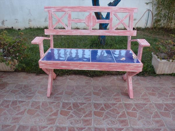 DIY Pallet bench project