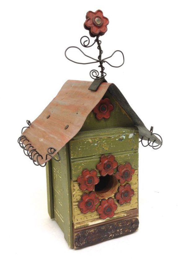 DIY cool birdhouse ideas