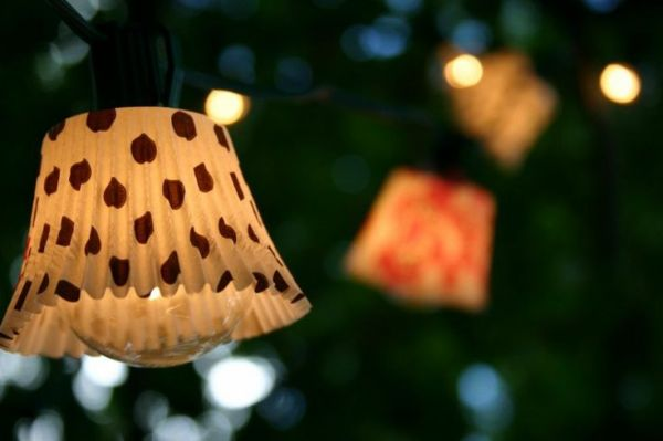 DIY Backyard lighting ideas