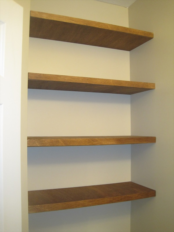 DIY Simple Shelving ideas