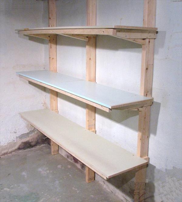 DIY Unique shelving project