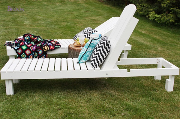 Homemade lawn furniture