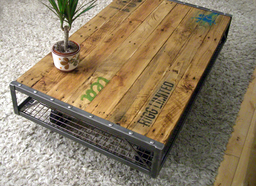 Diy multi purpose wooden table easy diy and crafts - Transformer palette table basse ...