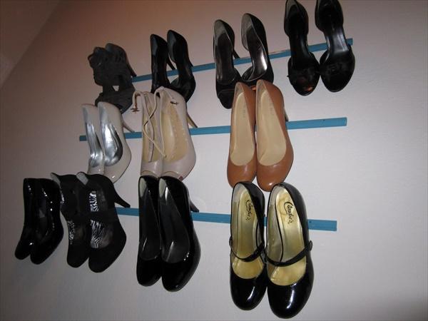 DIY Shoes shelving ideas