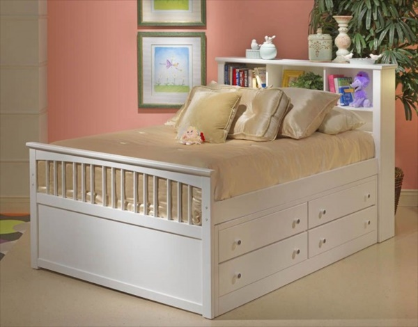 DIY build your own storage  bed