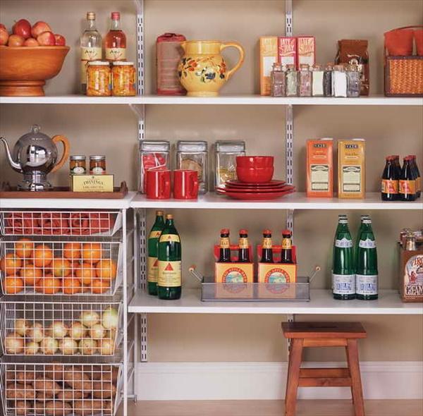 DIY kitchen organizing ideas