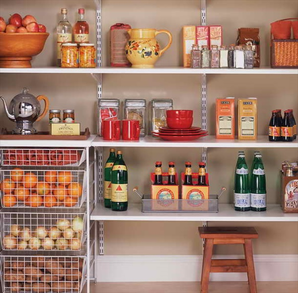 DIY Awesome Kitchen Pantry Designs