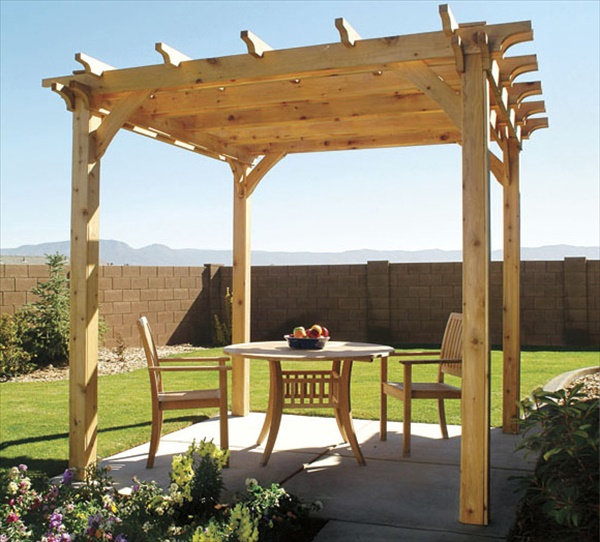 how to build a pergola in backyard