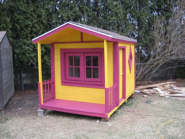 Cute pallet house designs