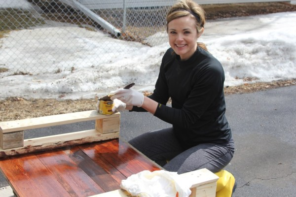 DIY Wooden table tutorial