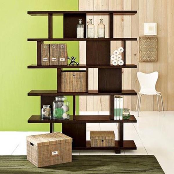 Easy DIY bookshelves