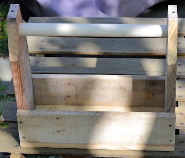 Pallet tool box1