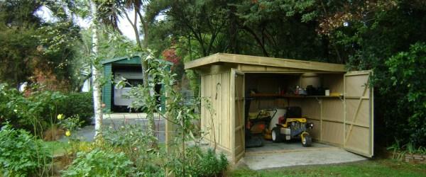 DIY pallet Garden shed