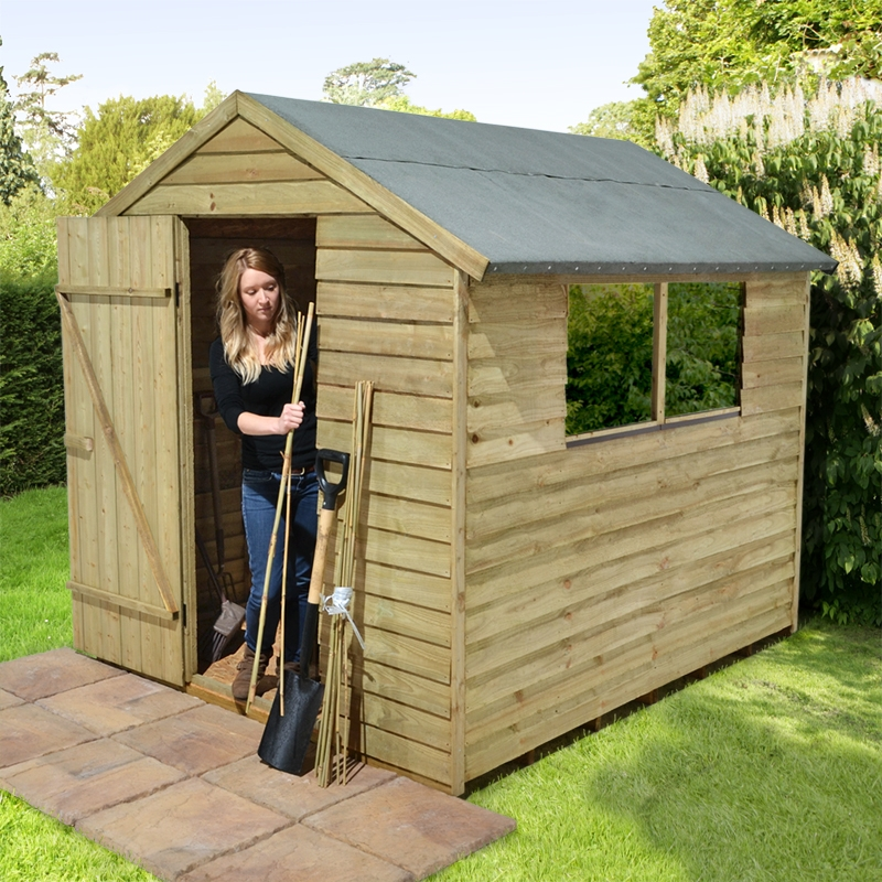 Easy Wooden Shed Out Of Pallets