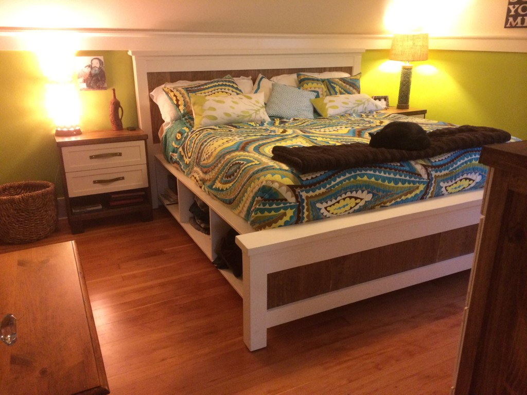 Build Your Own Storage Bed