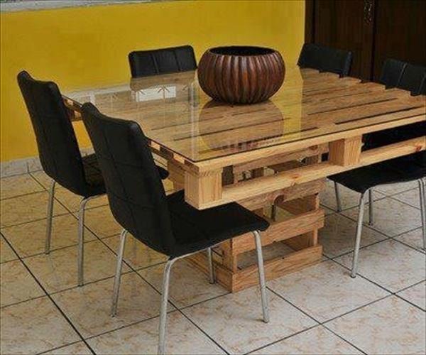 Homemade kitchen furniture