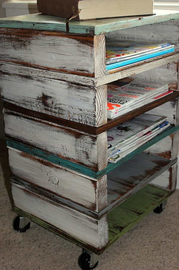 DIY reclaimed pallet project