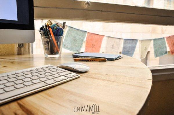 easy wooden pallets desk ideas