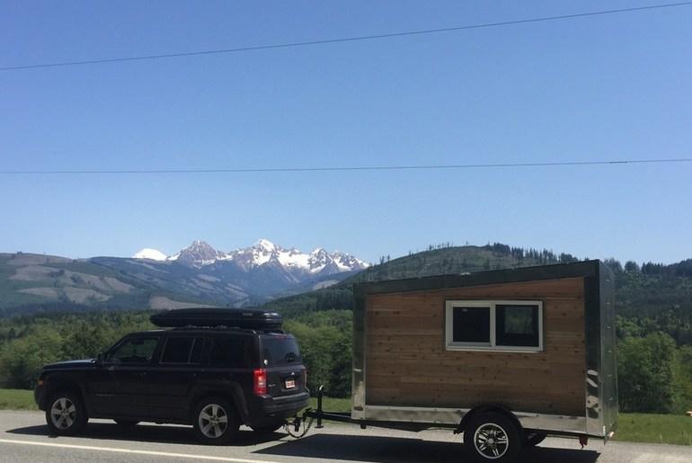 DIY outdoor small trailer