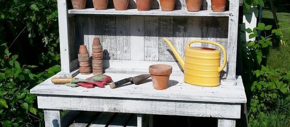 do it yourself potting bench