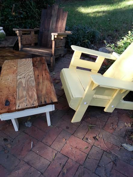 Diy Reclaimed Wood Outdoor Furniture Easy Diy And Crafts