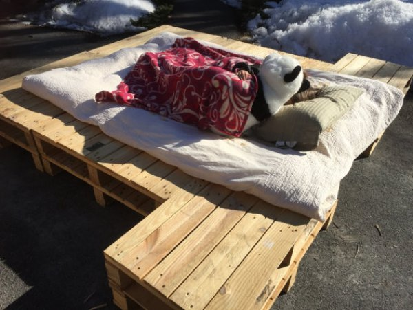 DIY Easy pallet bed ideas
