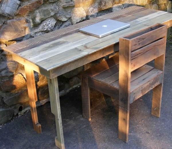 DIY multi-functional pallet furniture