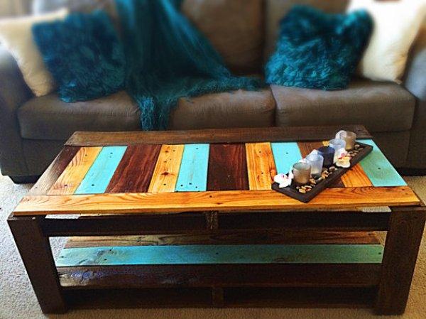 DIY pallet table plans