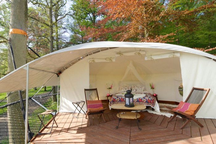 outdoor tenting ideas