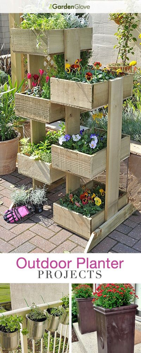 How to make a pallet flower box