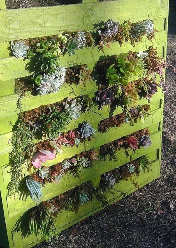 do it yourself pallet planters