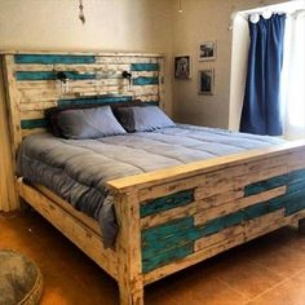 diy pallet bed project